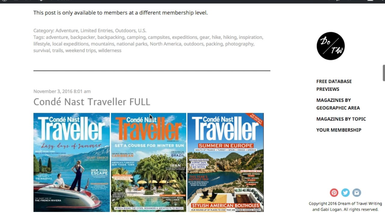travel writing courses The ultimate travel journalism course lets you benefit from years of knowledge and experience from current industry professionals and travel writers.
