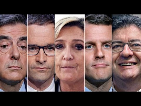 2017 French Presidential Election Update, Mélenchon‬, Le Pen, Macron‬, ‪could end the Euro and the E