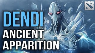 Dendi Ancient Apparition | Dota 2 Ranked Gameplay