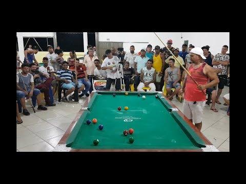 Baianinho De Mauá X Fabióla, Final Do Torneio De Sinuca De São Miguel Do Araguaia 2019