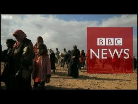 Pulitzer Prize-winner photographs Syrian refugees in Jordan - BBC News