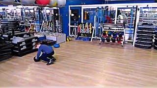 Функциональная тренировка юного хоккеиста.