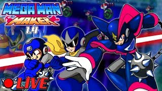 We Play Your Mega Man Maker Levels Live #53!