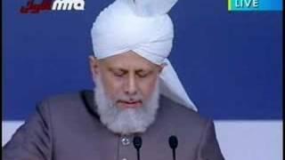 Address By Hadhrat Khalifatul Masih V Jalsa Uk 2008 part 6\10