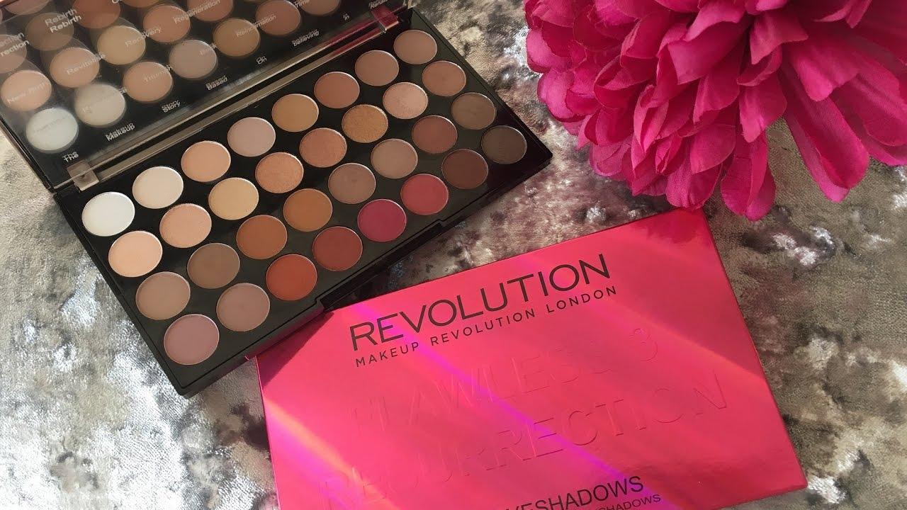 Makeup revolution london flawless 3 resurrection eyeshadow palette