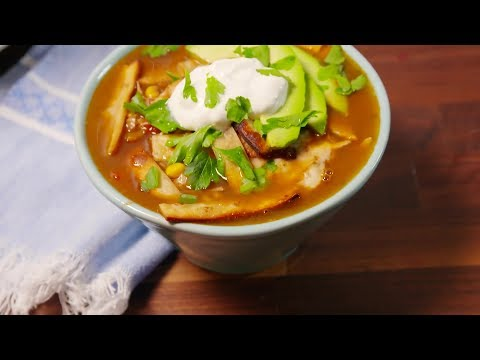 Best Mexican Chicken Tortilla Soup Recipe