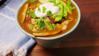 Tortilla Soup Recipes | Best Mexican Chicken Tortilla Soup Recipe