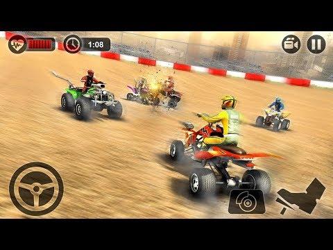 Quad Bike Crash Arena ATV Destruction Derby (by Tech 3D Games Studios) Android Gameplay [HD]
