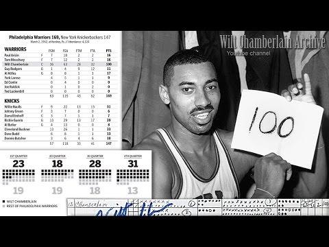 Wilt Chamberlain 100 Point Game Radio Broadcast (Full 4th Quarter)