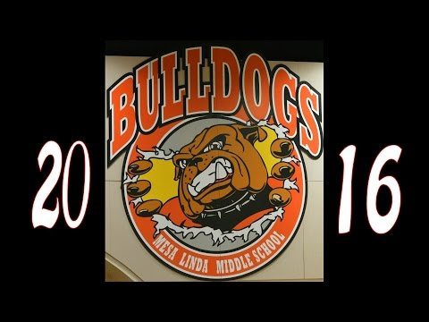 Mesa Linda Middle School vs Ranchero Basketball 2016