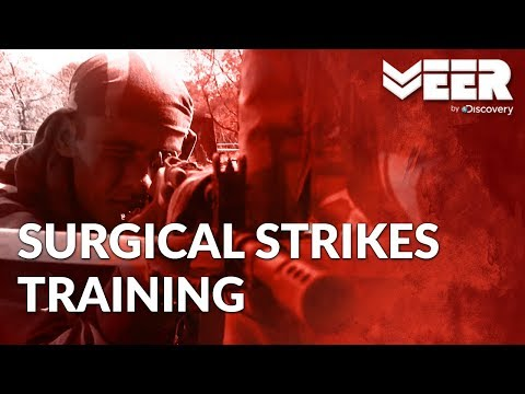 Commando Training for Surgical Strikes | Exercise Tod-Phod at Commando School | Veer by Discovery