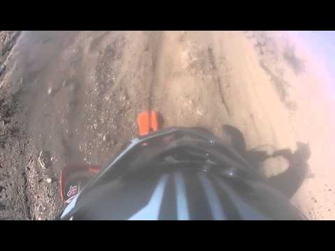Dirtbiking in the Mojave Desert Part 2