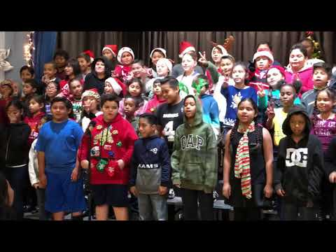 "BARTON HILL ELEMENTARY SCHOOL 4TH GRADERS SINGING ""WHEN I'M GONE!"""