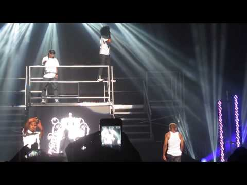 Mindless Behavior - Hello (AATWT) 7-13-13 NYC