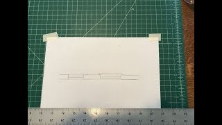 Manual Drafting: Draw a Double-Hung Window Symbol