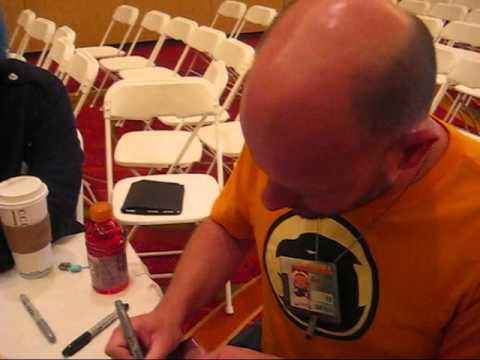 Meeting David Wald at Anime Iowa 2013
