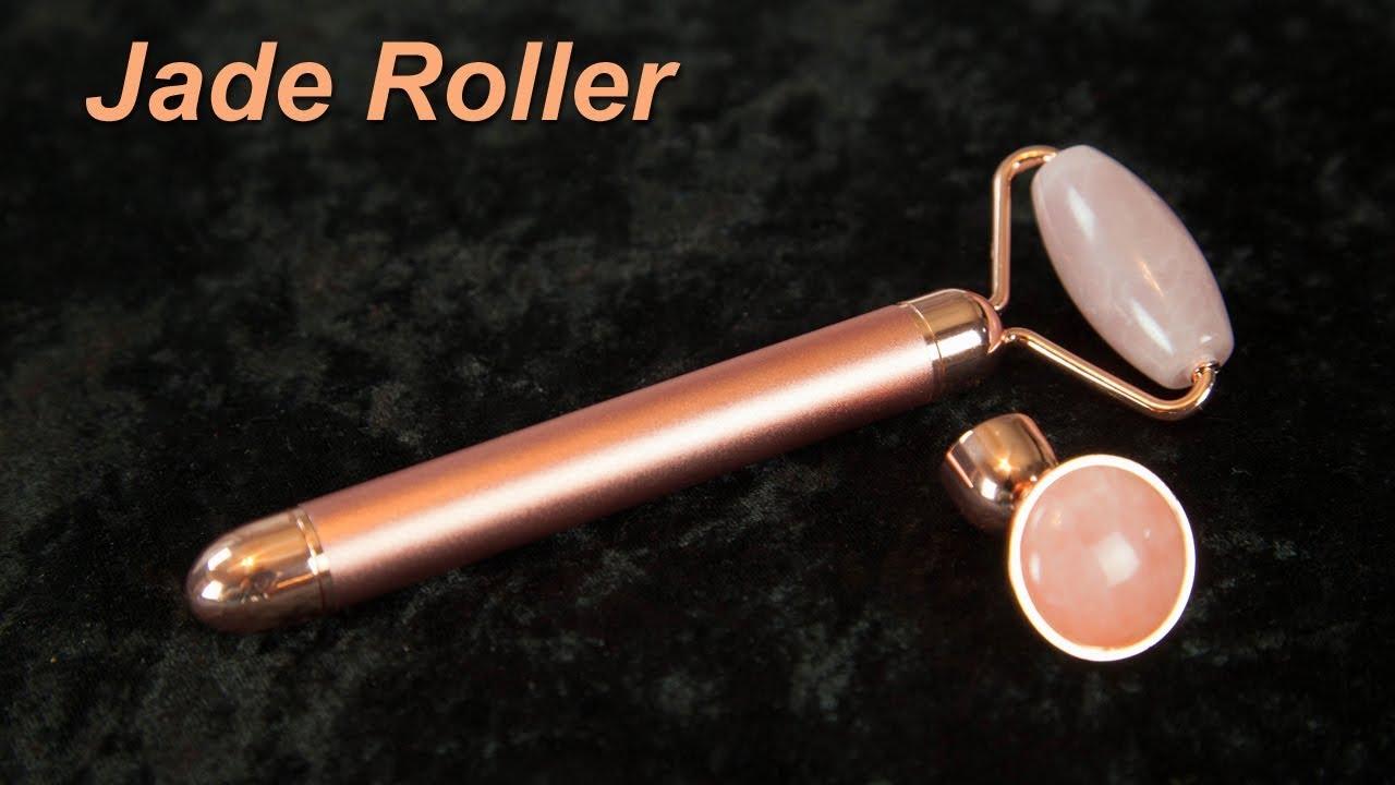 Jade Roller Energy Beauty Bar - YouTube