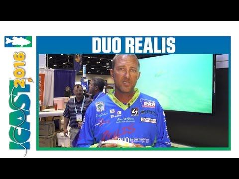 Duo Realis Onimasu 188S Sinking Swimbait With Chris Jackson | ICAST 2016