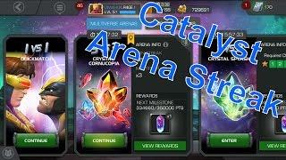 how i start my infinite streaks in catalyst arenas
