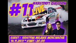 #KRSTDRFT Questions Live #11 Kristýna Melánie Morcinková BMW e46 2JZ thumbnail