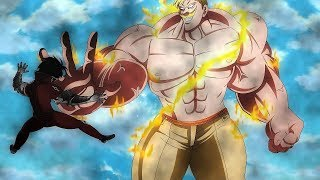 ESCANOR All fights | Seven Deadly Sins |