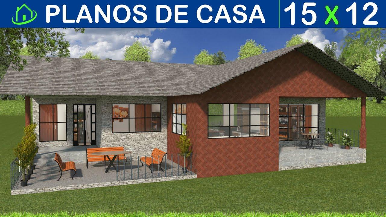 Dise os y planos de una casa sencilla 1 piso proyecto for Arquitectura planos y disenos
