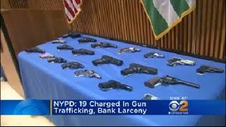 Gun Running Arrests