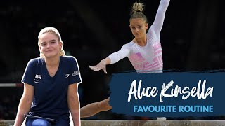 Alice Kinsella's favourite routine