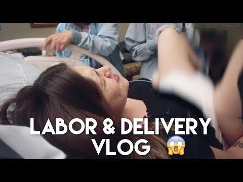 Real Af Labor & Delivery Vlog | Natural Birth With No Epidural! ��
