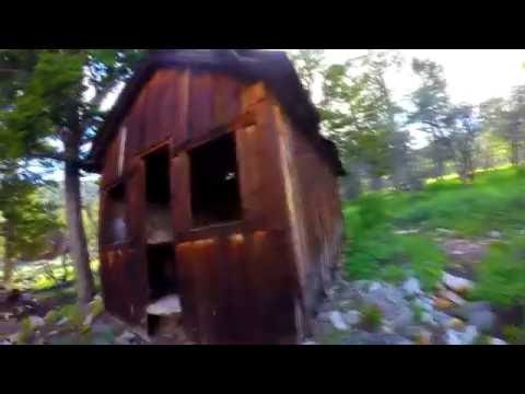 Abandoned Mining Town, Ghost town 1800s Mansion