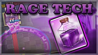 How the Rage Challenge Works | The Rage Arena Bug | Clash Royale 🍊