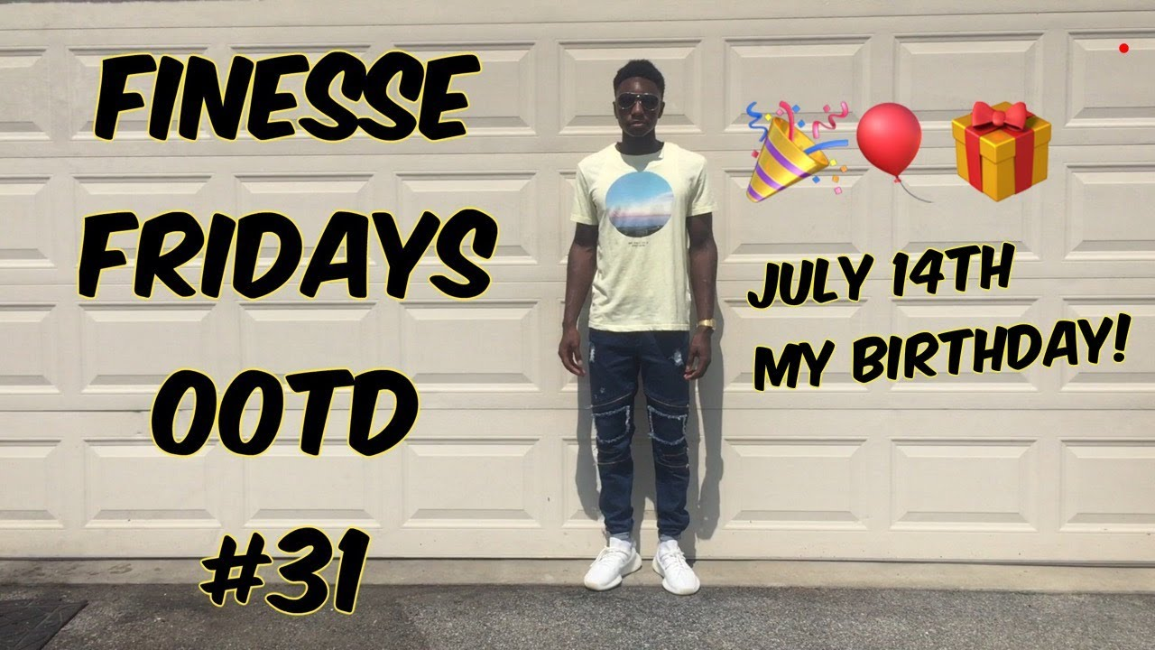 b6fe34ba9 Finesse Fridays OOTD  31 (Adidas Yeezy Boost 350 V2 Cream) - YouTube