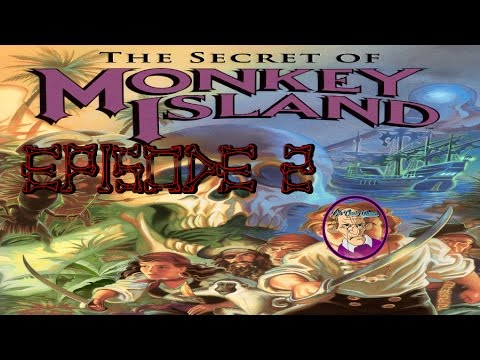 The Secret of Monkey Island Ep 2 -Chickens.Pulleys & Existentialism
