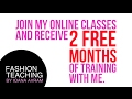 Join my online classes and receive 2 free months of training