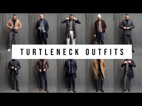 10 Different Ways To Wear A Turtleneck