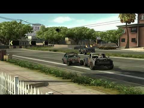 flatout 3 : race with replay 3 with my car of chilli