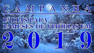 """(Abril) """"12 DIAS P/12 MESES DE VITÓRIAS EM 2019"""".Com o Profeta Missionário Marcelo Gomes."""