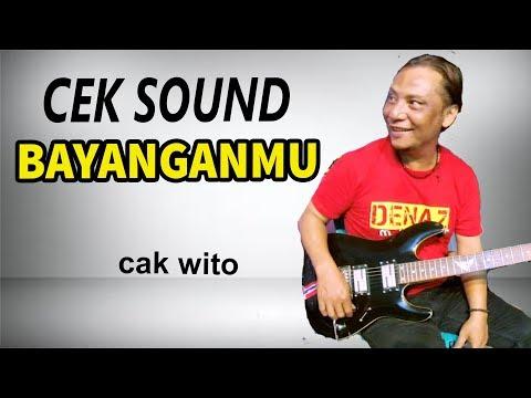 Halus banget lead gitar Cak Wito (Cek Sound)