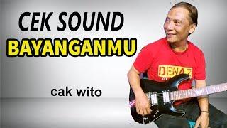 halus banget lead gitar cak wito cek sound