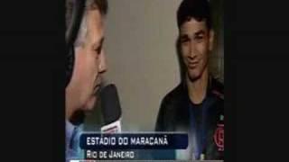 Baixar Flamengo Campeão Carioca 2008- Ronaldo Angelim após o jogo