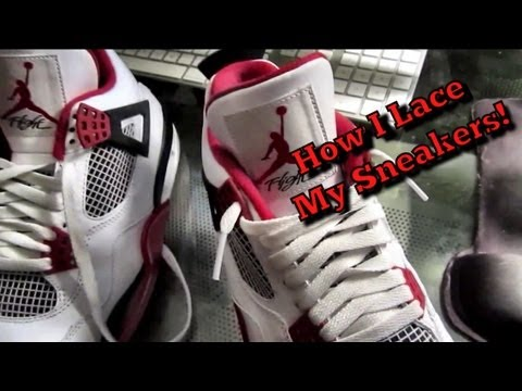 How I Lace My Sneakers!