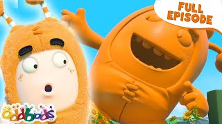 ODDBODS | The Gigantic Statue of Slickety | NEW Full Episode | Cartoons For Kids
