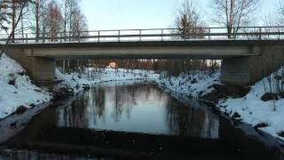 Kiuruvesi 12 / 2016 Ryönänjoki (ilmakuvaa)