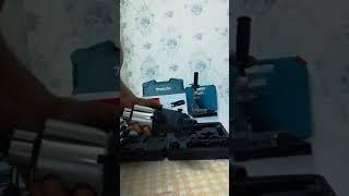 Máy mài cắt cầm tay makita va máy khoan điện maktec 220vm