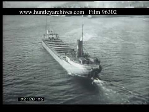 Great Lakes USA Shipping And Mining, 1940s - Film 96302