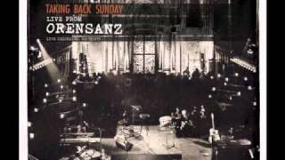 Taking Back Sunday - Cute Without The E (cut from the team) - Live from Orensanz