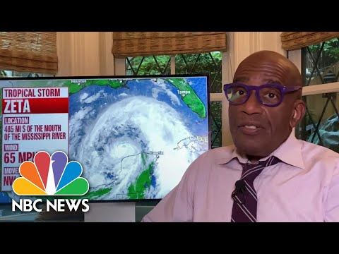 Tropical Storm Zeta May Strengthen To Hurricane Before Striking Gulf Coast | NBC News NOW