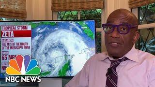 Download lagu Tropical Storm Zeta May Strengthen To Hurricane Before Striking Gulf Coast | NBC News NOW