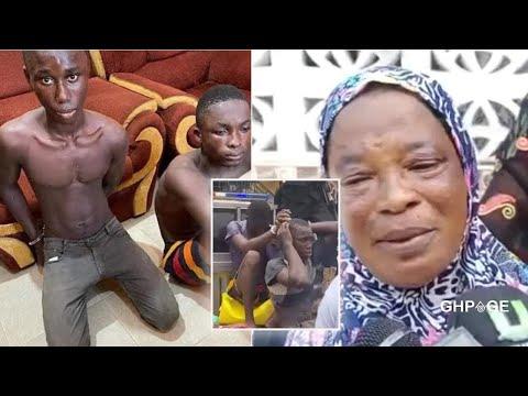 Kasoa boys,18 & 19 who K!lled 10 yr old for money R!tʊals explains what happened;mother speaks