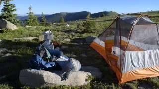 Hunter-Fryingpan Wilderness Colorado backpack!